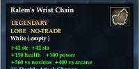 Ralem's Wrist Chain
