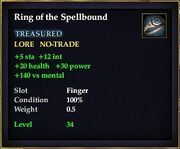 Ring of the Spellbound