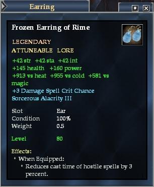 Frozen Earring of Rime