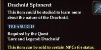 Drachnid Spinneret