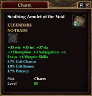 Soothing Amulet of the Void