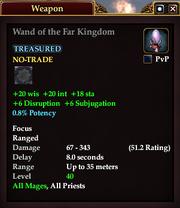 Wand of the Far Kingdom