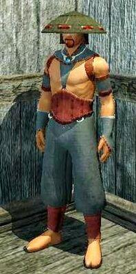 Jin Drake's Relentless Attack (Armor Set) (Visible, Male)