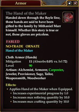 The Hand of the Maker