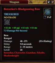 Berserker's Bludgeoning Bow