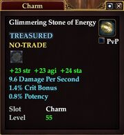 Glimmering Stone of Energy