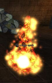 A forge spark