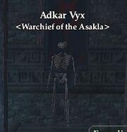Adkar Vyx