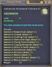 Advanced Alchemist Volume 47