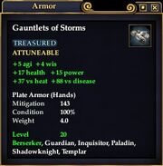 Gauntlets of Storms