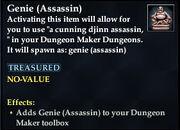 Genie (Assassin)