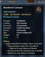 Boarfiend Costume