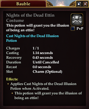 Nights of the Dead Ettin Costume