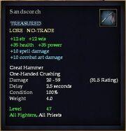 Sandscorch