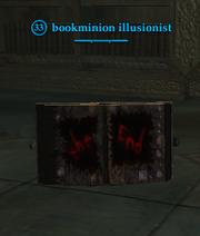 Bookminion illusionist