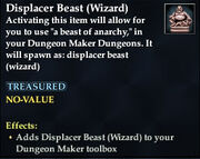 Displacer Beast (Wizard)