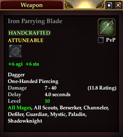 Iron Parrying Blade
