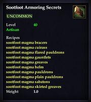 Sootfootarmoring
