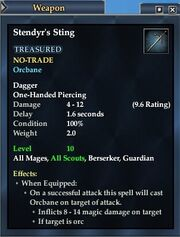 Stendyr's Sting