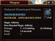 Tinkered Illuminated Polearm