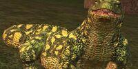 A beaded lizard