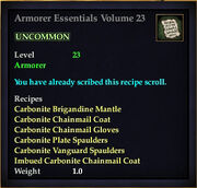 Armorer Essentials Volume 23