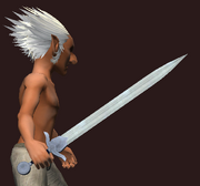 Dwarven Sword of Cleansing (Equipped)