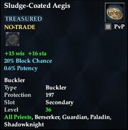 Sludge-Coated Aegis