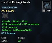 Band of Fading Clouds