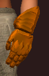 Orange Galvanized Paper Plate Mitts (Equipped)