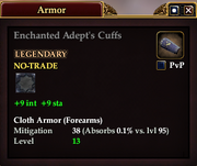 Enchanted Adept's Cuffs