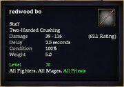 Redwood bo