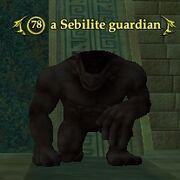 A Sebilite guardian