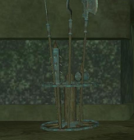 File:Ceremonial weapons rack.jpg