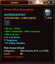 Runescribed Breastplate