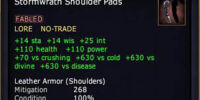 Stormwrath Shoulder Pads