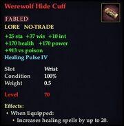 Werewolf Hide Cuff