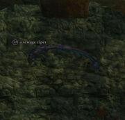 A sewage viper