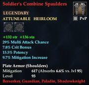 Soldier's Combine Spaulders