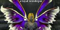 A loyal worshiper