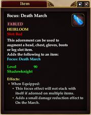 Death March Adornment