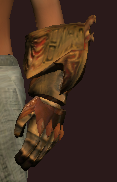 Sacrosanct Gauntlets of the Exarch (Equipped)