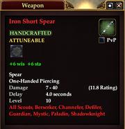 Iron Short Spear