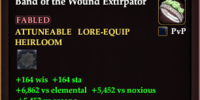 Band of the Wound Extirpator