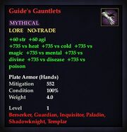 Guide's Gauntlets