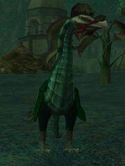 An emerald stonegazer