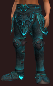 Frostwind Oracle's Greaves (Equipped)