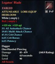 Legatus' Blade