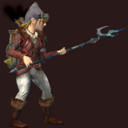 Vesspyrian Great Staff (Equipped)