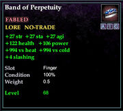Band of Perpetuity